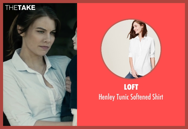 Loft white shirt from The Boy seen with Lauren Cohan (Greta)