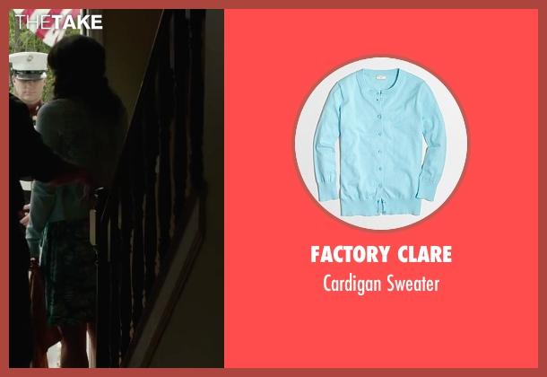 Factory Clare green sweater from Max seen with Lauren Graham (Pamela)