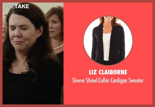 Liz Claiborne sweater from Max seen with Lauren Graham (Pamela)