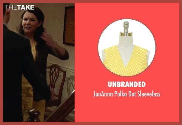 Unbranded yellow sleeveless from Max seen with Lauren Graham (Pamela)