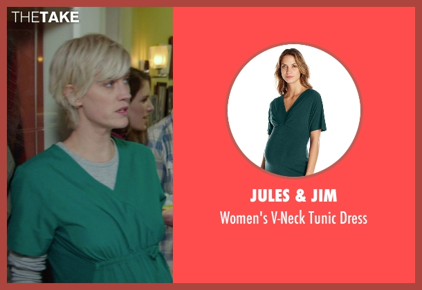 Jules & Jim green dress from If I Stay seen with Lauren Lee Smith (Willow)