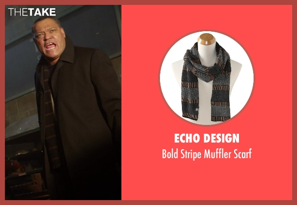 Echo Design black scarf from Ride Along seen with No Actor (Omar)