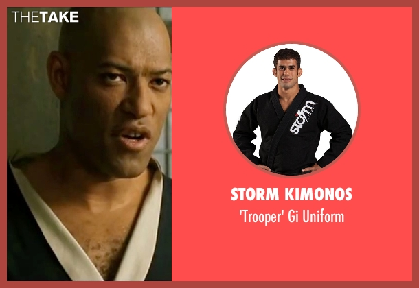 Storm Kimonos uniform from The Matrix seen with Laurence Fishburne (Morpheus)