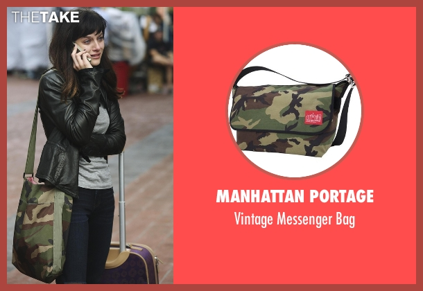Manhattan Portage bag from Nashville seen with Layla Grant (Aubrey Peeples)
