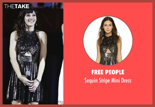 Free People black dress from Nashville seen with Layla Grant (Aubrey Peeples)
