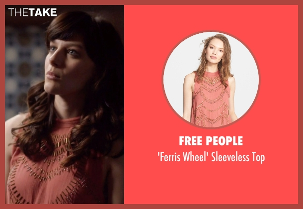 Free People pink top from Nashville seen with Layla Grant (Aubrey Peeples)