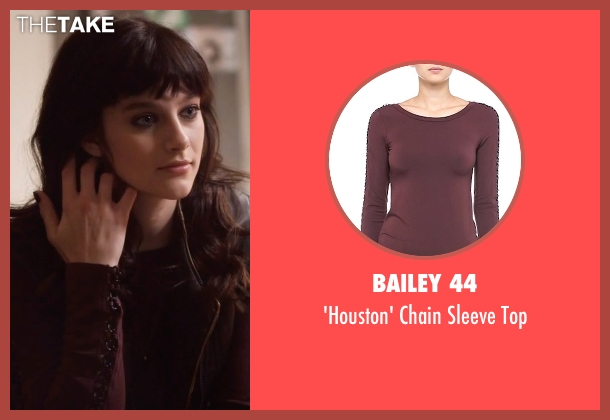 Bailey 44 red top from Nashville seen with Layla Grant (Aubrey Peeples)