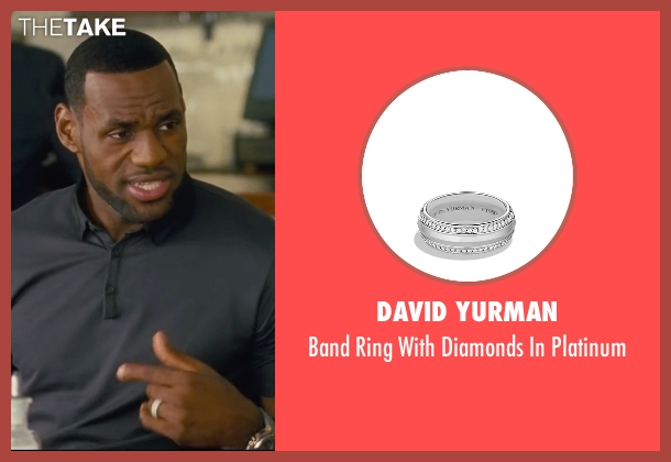 David Yurman platinum from Trainwreck seen with LeBron James