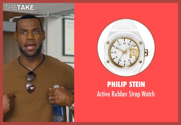 Philip Stein white watch from Trainwreck seen with LeBron James