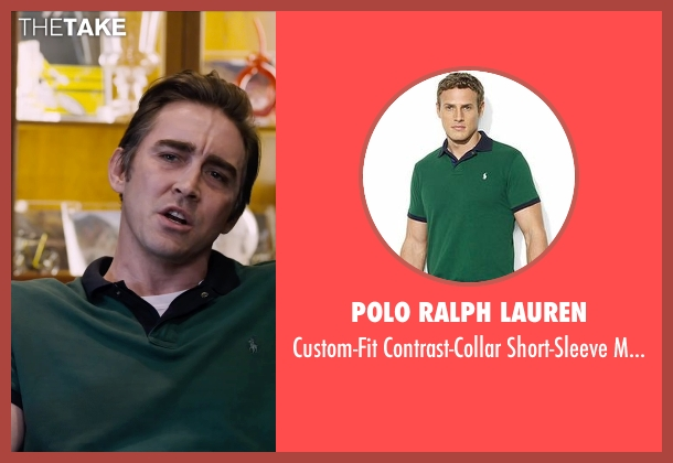 Polo Ralph Lauren green polo from The Program seen with Lee Pace (Bill Stapleton)