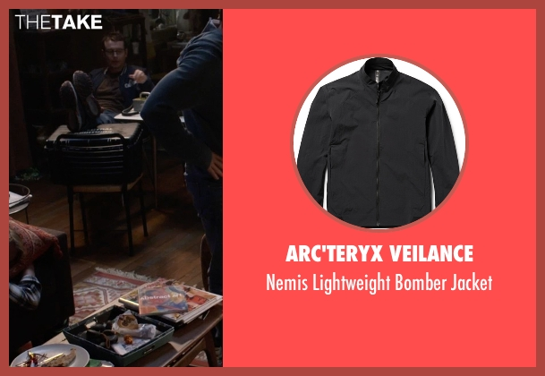 Arc'teryx Veilance black jacket from Insidious: Chapter 3 seen with Leigh Whannell (Specs)