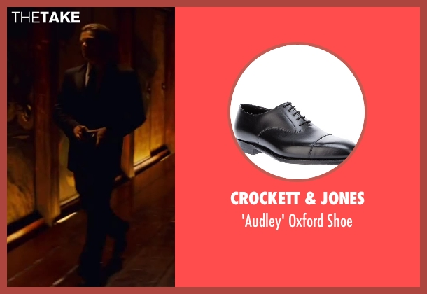 CROCKETT & JONES black shoe from Inception seen with Leonardo DiCaprio (Cobb)