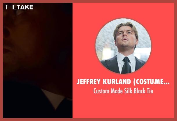 Jeffrey Kurland (Costume Designer) black tie from Inception seen with Leonardo DiCaprio (Cobb)