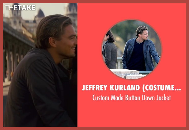 Jeffrey Kurland (Costume Designer) blue jacket from Inception seen with Leonardo DiCaprio (Cobb)