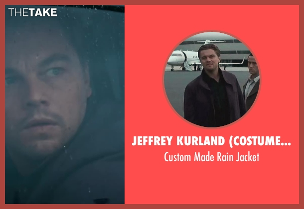 Jeffrey Kurland (Costume Designer) brown jacket from Inception seen with Leonardo DiCaprio (Cobb)