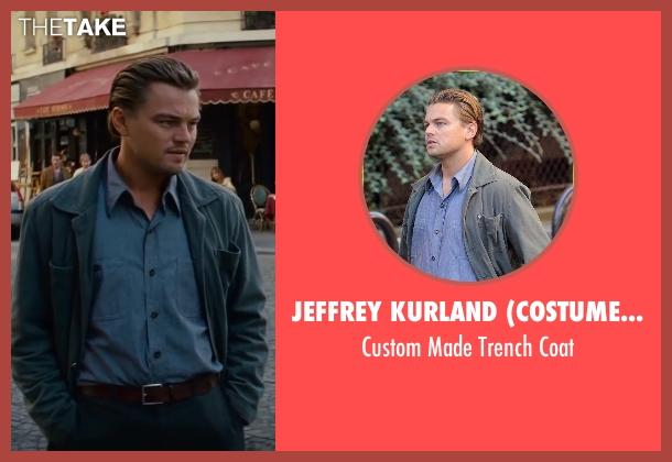 Jeffrey Kurland (Costume Designer) gray coat from Inception seen with Leonardo DiCaprio (Cobb)