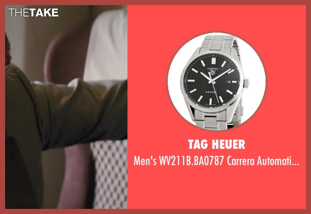 TAG Heuer watch from Inception seen with Leonardo DiCaprio (Cobb)