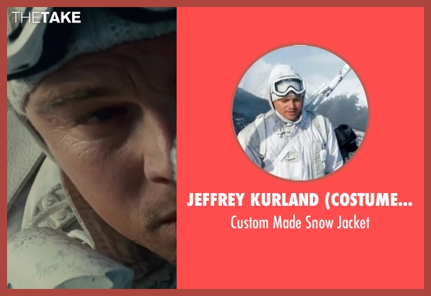 Jeffrey Kurland (Costume Designer) white jacket from Inception seen with Leonardo DiCaprio (Cobb)