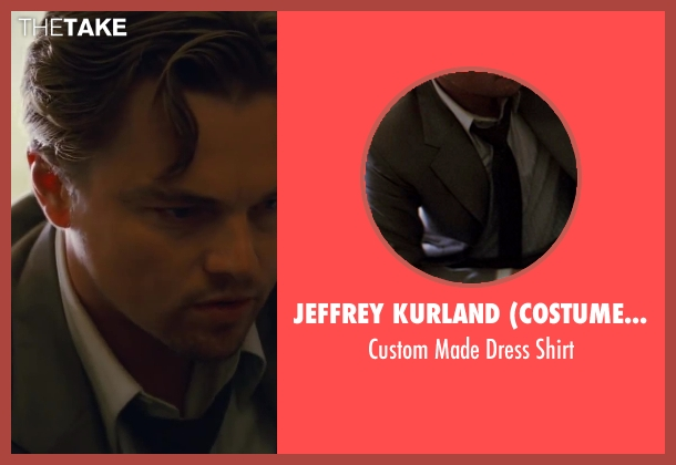 Jeffrey Kurland (Costume Designer) and Anto Beverly Hills (Tailor) white shirt from Inception seen with Leonardo DiCaprio (Cobb)