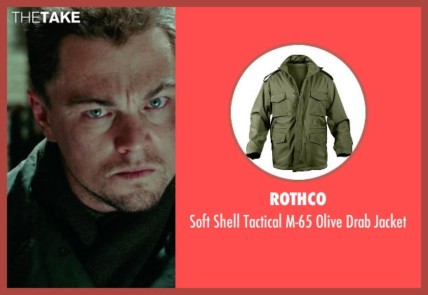 Rothco green jacket from Shutter Island seen with Leonardo DiCaprio (Teddy Daniels)