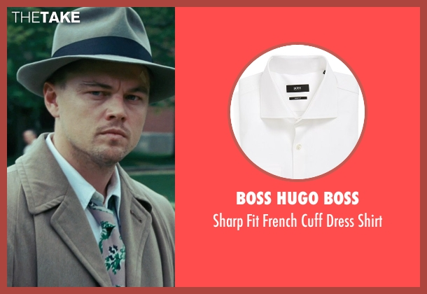 Boss Hugo Boss white shirt from Shutter Island seen with Leonardo DiCaprio (Teddy Daniels)