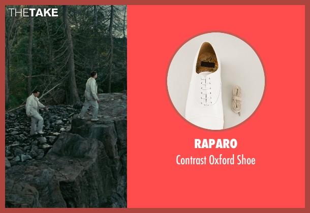 Raparo white shoe from Shutter Island seen with Leonardo DiCaprio (Teddy Daniels)