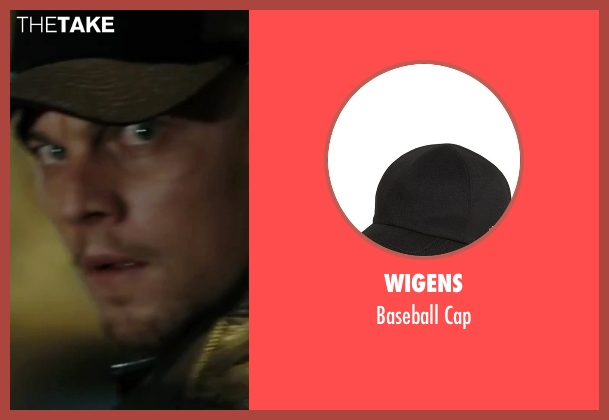 Wigens black cap from The Departed seen with Leonardo DiCaprio (Billy)