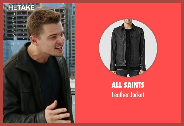 All Saints black jacket from The Departed seen with Leonardo DiCaprio (Billy)