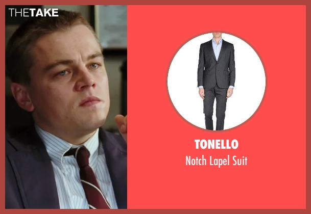 Tonello gray suit from The Departed seen with Leonardo DiCaprio (Billy)