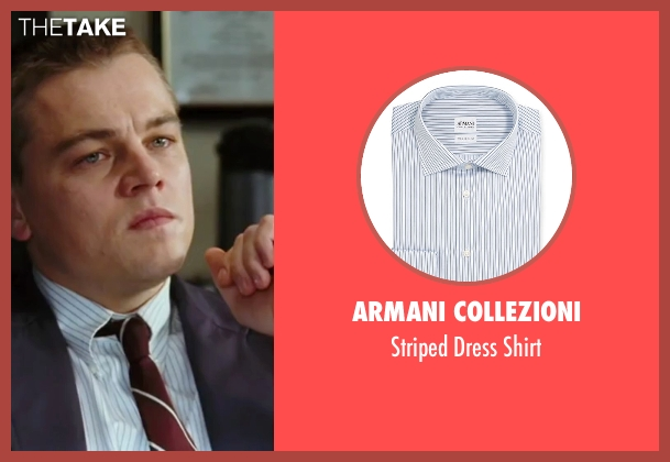 Armani Collezioni white shirt from The Departed seen with Leonardo DiCaprio (Billy)