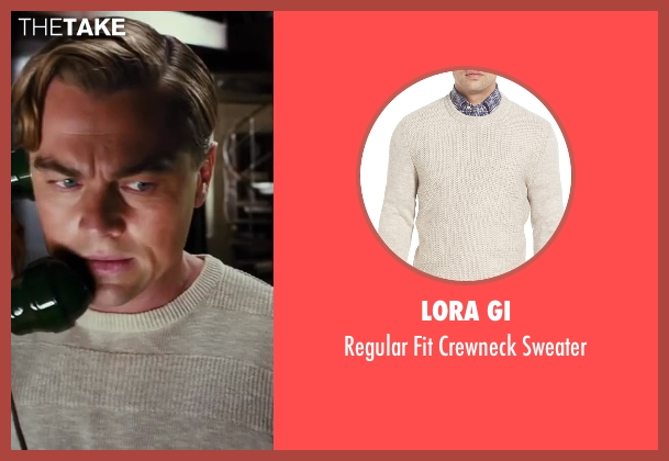 Lora Gi beige sweater from The Great Gatsby seen with Leonardo DiCaprio (Jay Gatsby)