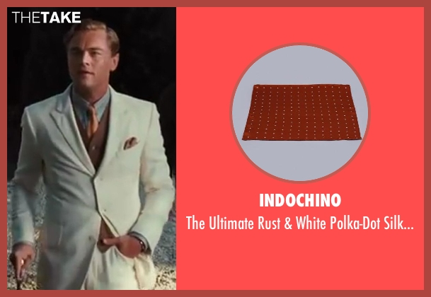 Indochino brown square from The Great Gatsby seen with Leonardo DiCaprio (Jay Gatsby)
