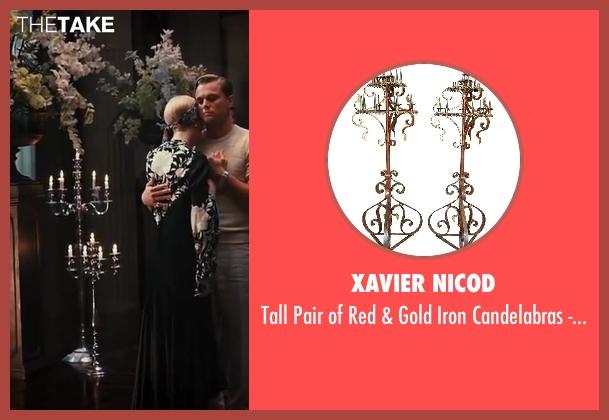 Xavier Nicod century from The Great Gatsby seen with Leonardo DiCaprio (Jay Gatsby)
