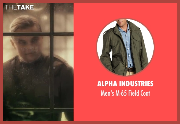 Alpha Industries green coat from The Great Gatsby seen with Leonardo DiCaprio (Jay Gatsby)