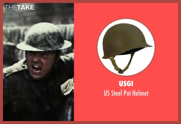 USGI helmet from The Great Gatsby seen with Leonardo DiCaprio (Jay Gatsby)