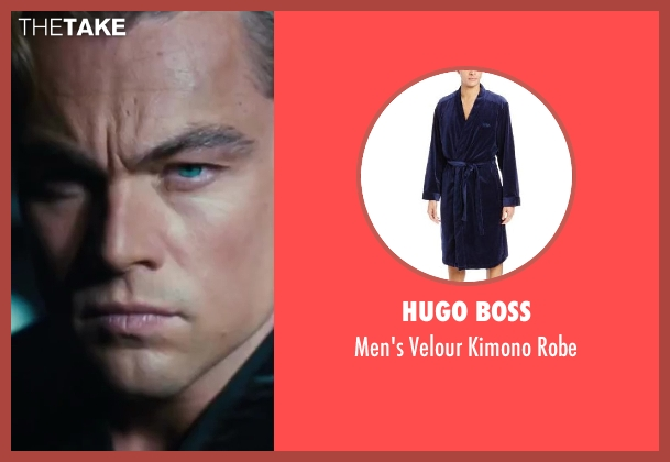 Hugo Boss robe from The Great Gatsby seen with Leonardo DiCaprio (Jay Gatsby)