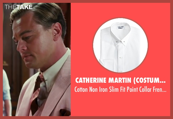 Catherine Martin (Costume Designer) and Brooks Brothers (Tailor) shirt from The Great Gatsby seen with Leonardo DiCaprio (Jay Gatsby)