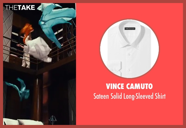Vince Camuto shirt from The Great Gatsby seen with Leonardo DiCaprio (Jay Gatsby)