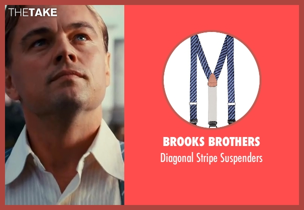 Brooks Brothers suspenders from The Great Gatsby seen with Leonardo DiCaprio (Jay Gatsby)