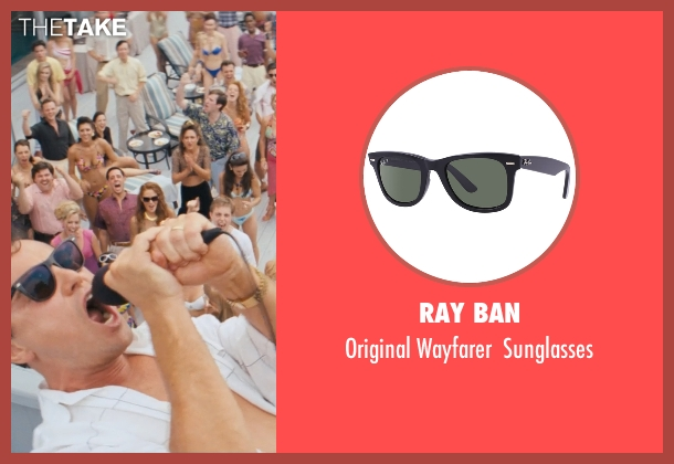 Ray Ban sunglasses from The Wolf of Wall Street seen with Leonardo DiCaprio (Jordan Belfort)