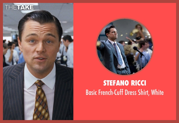 Stefano Ricci white white from The Wolf of Wall Street seen with Leonardo DiCaprio (Jordan Belfort)
