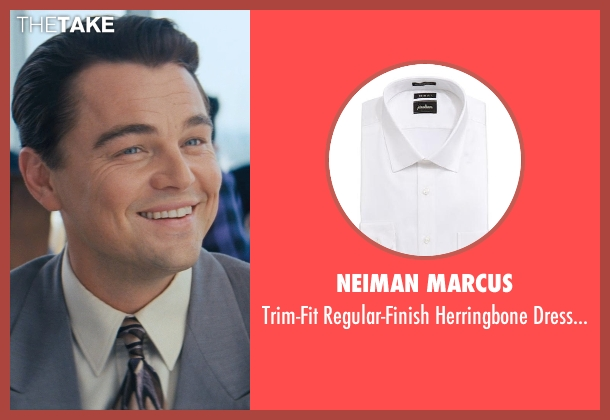 Neiman Marcus white white from The Wolf of Wall Street seen with Leonardo DiCaprio (Jordan Belfort)