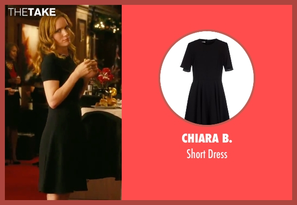 Chiara B. black dress from How To Be Single seen with Leslie Mann (Unknown Character)