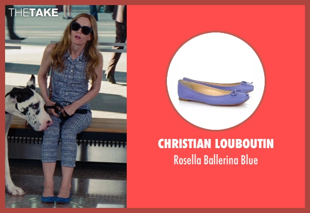 Christian Louboutin blue blue from The Other Woman seen with No Actor (Kate King)
