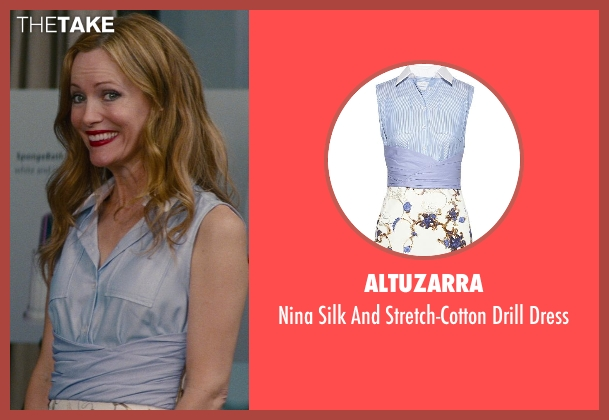 Altuzarra blue dress from The Other Woman seen with No Actor (Kate King)