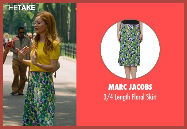 Marc Jacobs green skirt from The Other Woman seen with Leslie Mann (Kate King)