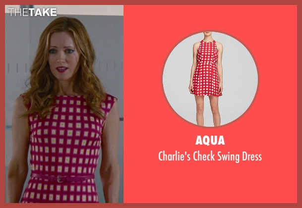 Aqua pink dress from The Other Woman seen with No Actor (Kate King)