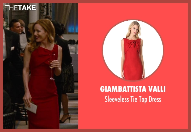 Giambattista Valli red dress from The Other Woman seen with Leslie Mann (Kate King)