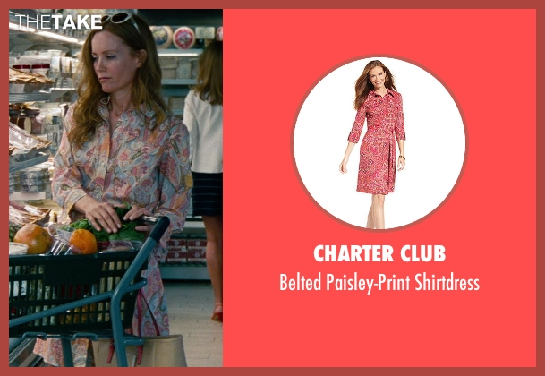 Charter Club shirtdress from The Other Woman seen with No Actor (Kate King)