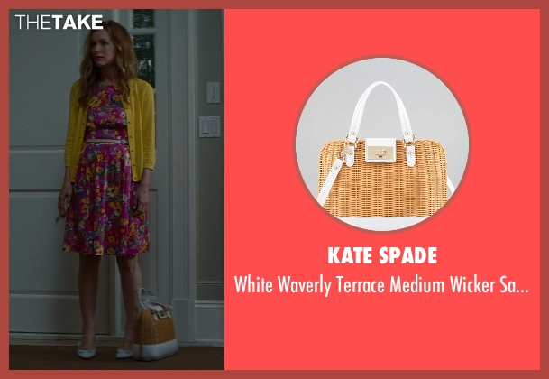 Kate Spade white bag from The Other Woman seen with Leslie Mann (Kate King)
